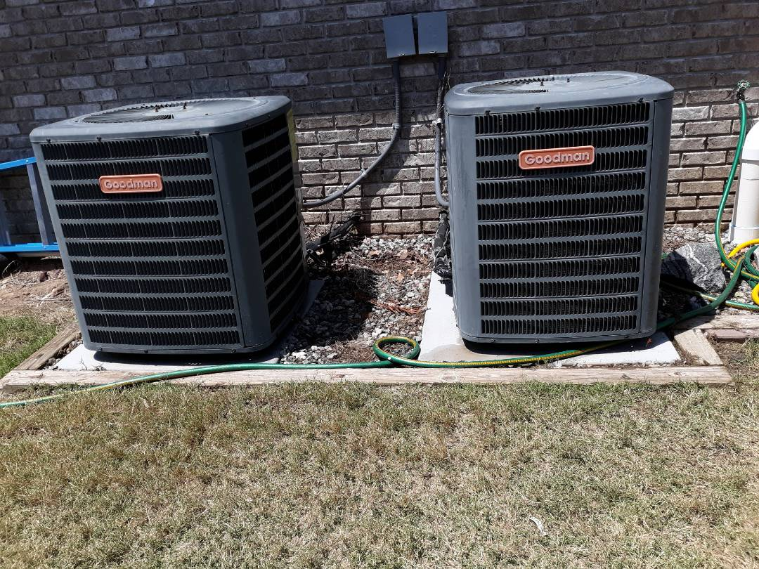 Phenix City, AL - Service Goodman heating and cooling system.  Air conditioning maintenance. Ac tune up.