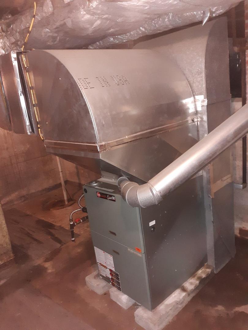 Columbus, GA - Air conditioner inspection. Maintenance for Ruud ac.
