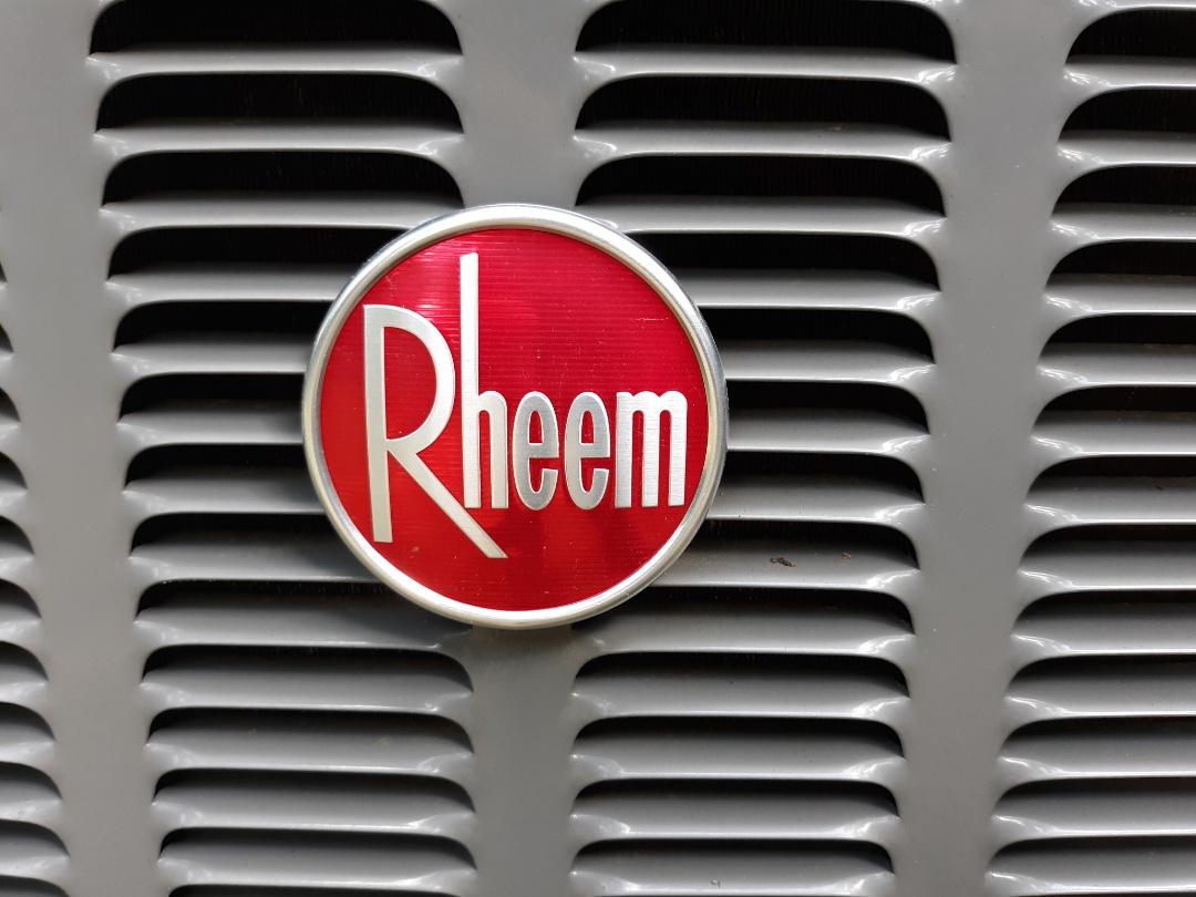 Columbus, GA - Rheem air conditioner maintenance.  Yearly tune up.