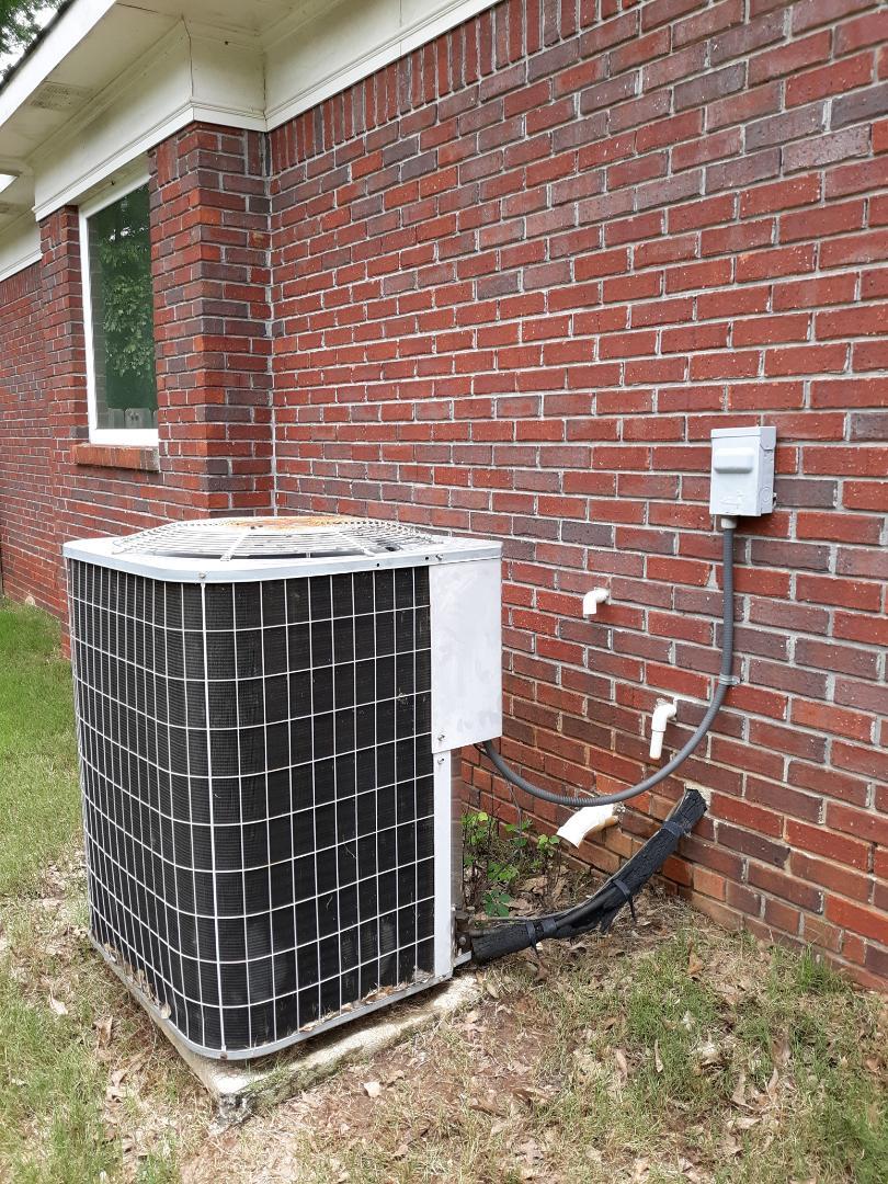 Columbus, GA - Ac not blowing cold.  Carrier air conditioner repair.  Replace fan motor. Upgrade.  Hvac repair.