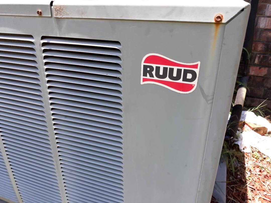 Columbus, GA - Ac charge. Ruud air conditioner repair.  Add freon.