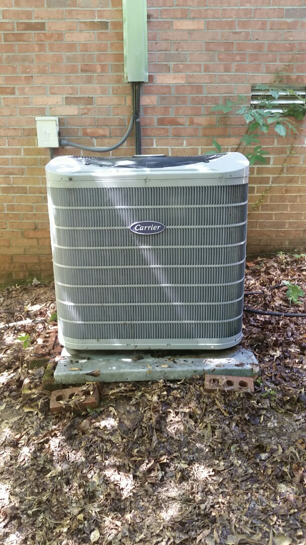 Cataula, GA - Repair on Carrier air conditioning system. Complete ac renovation. Extended warranty.  Maintenance to heat pump system.