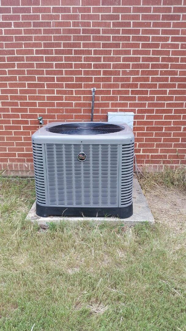 Seale, AL - Ruud ac repair.  New fan install.