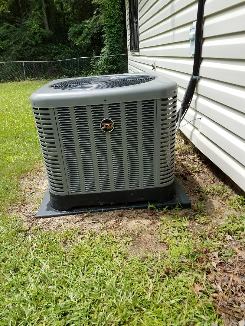 Columbus, GA - New Ruud heating and cooling system. seasonal maintenance and tune up.