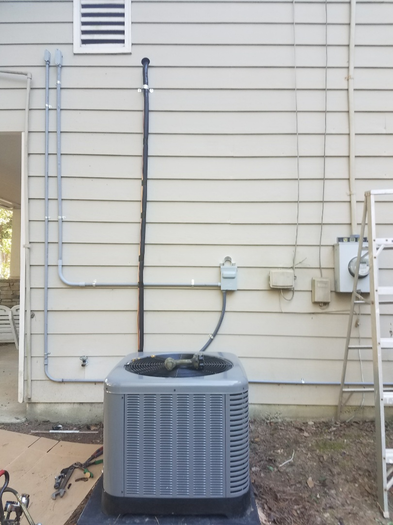 Phenix City, AL - Heater tune up.  Rheem heat pump and ac service and maintenance