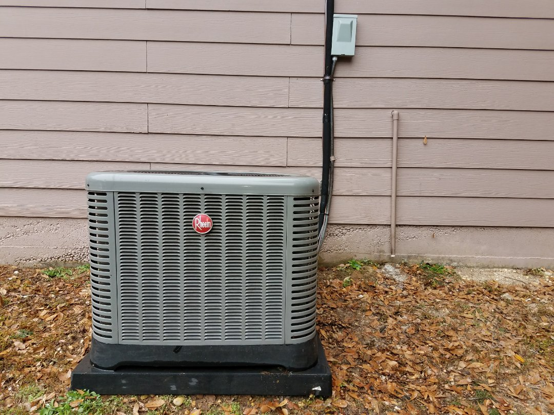 Phenix City, AL - Planned maintenace.  Winter furnace tune up. Rheem heat pump system.