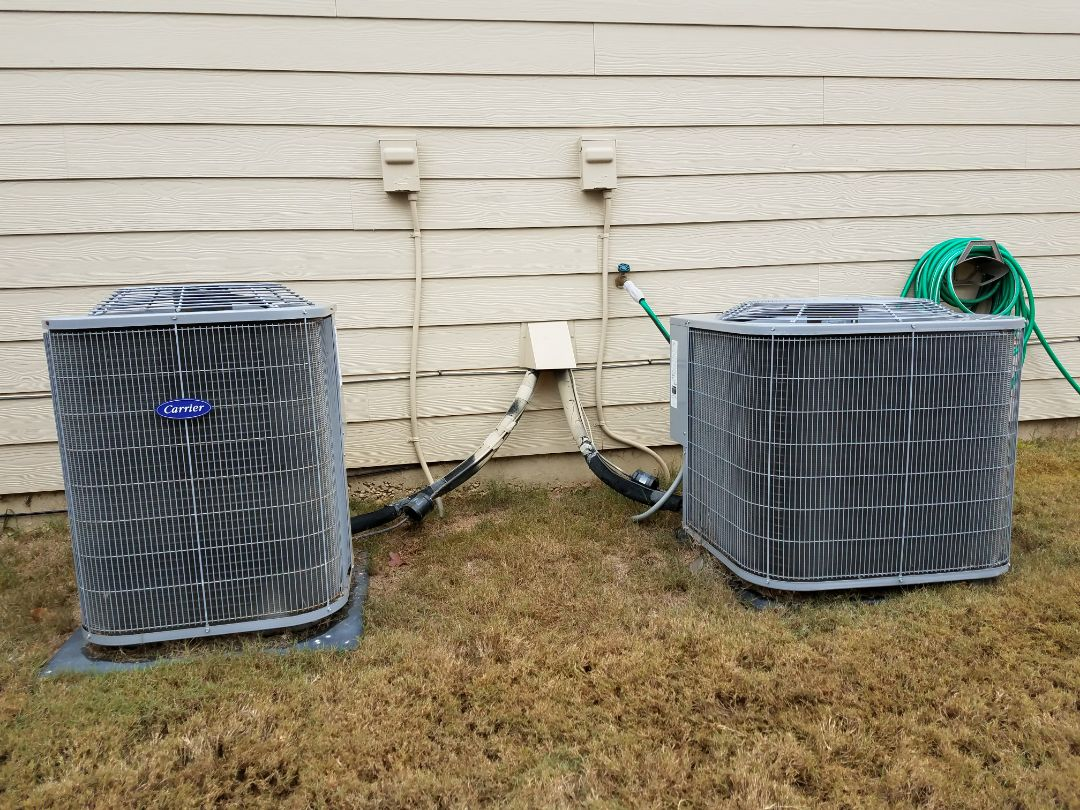 Smiths Station, AL - Service call Carrier heat and air. Wiring repair