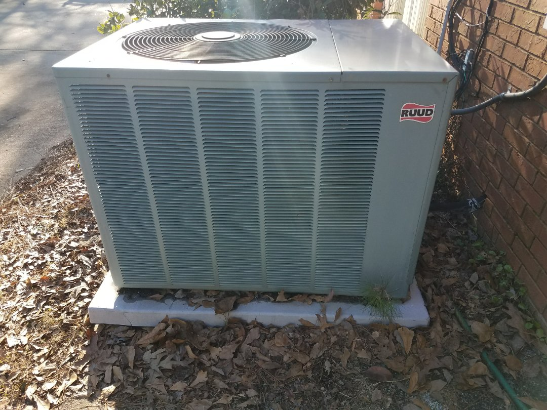 Waverly Hall, GA -  Service  call Ruud heater repair.  Maintenance and tune up.