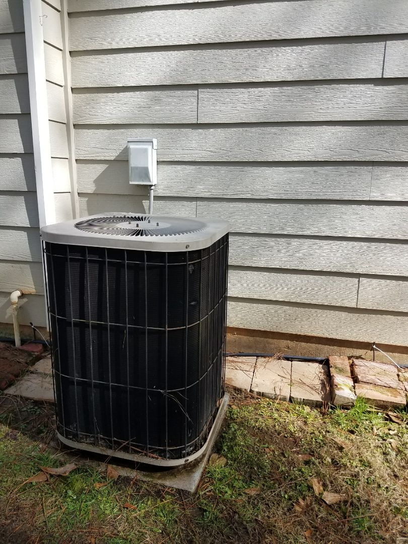 Phenix City, AL -  Service call Goodman heat pump ac system.