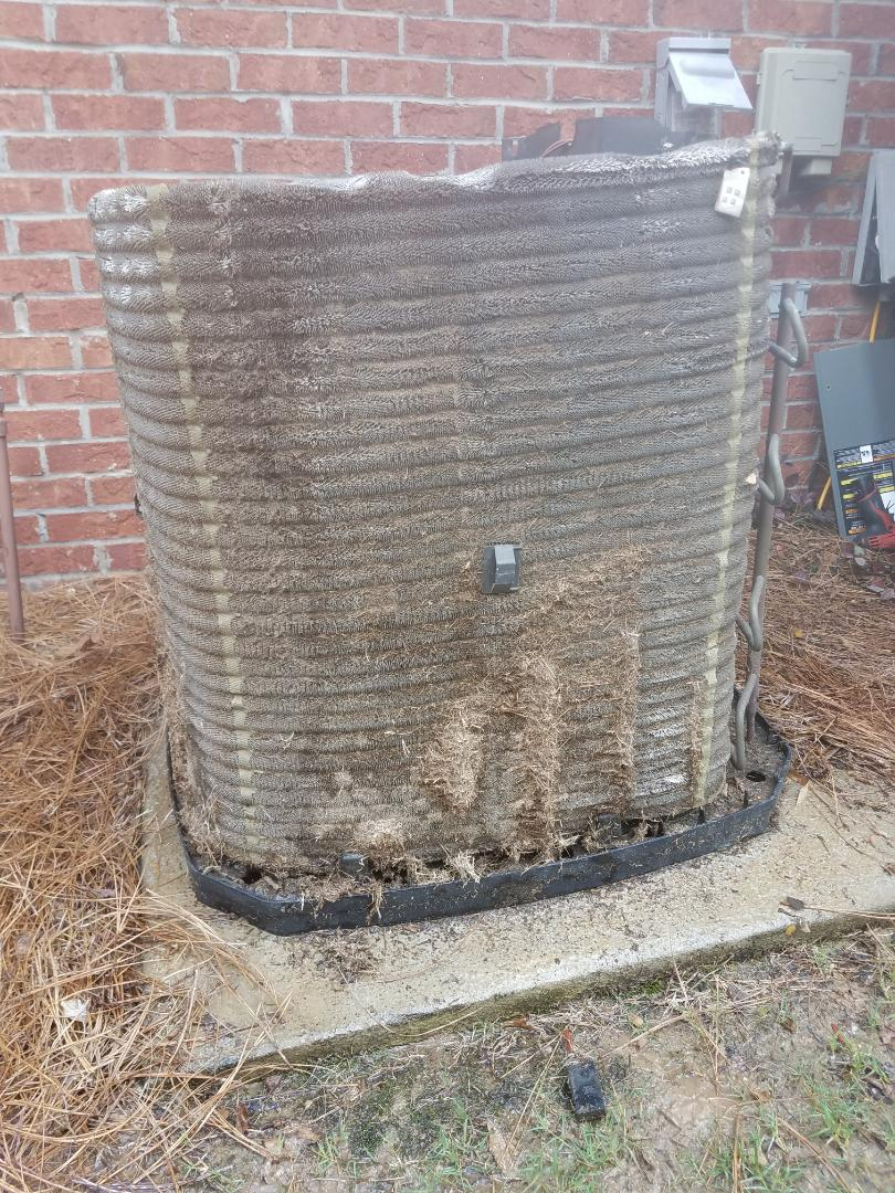 Columbus, GA - Service call Trane air conditioner. Maintenace and tune up.  System now clean and cooling