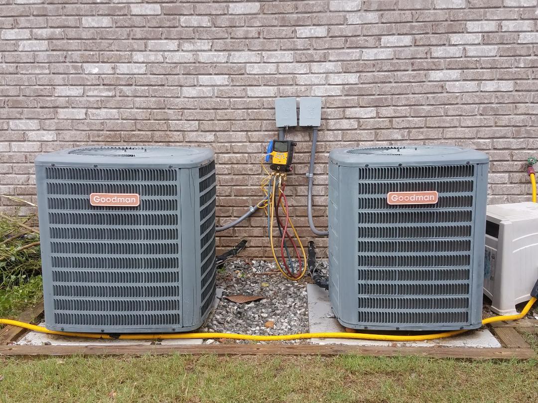 Phenix City, AL -  Goodman ac repair.  Replace Honeywell thermostat