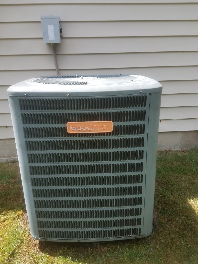 Salem, AL - Goodman air repair. Maintenance