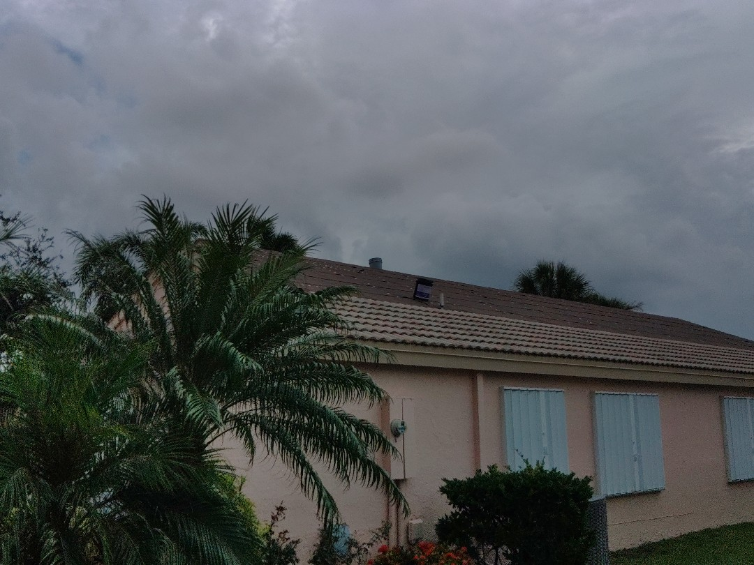 Boynton Beach, FL - Returning to recommence tear off and dry in.