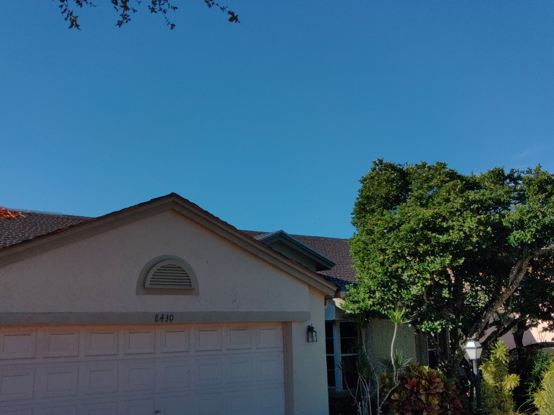 Lake Worth, FL - Returning to site. Tear off and dry-in complete. Preparing to repair damage to wood.