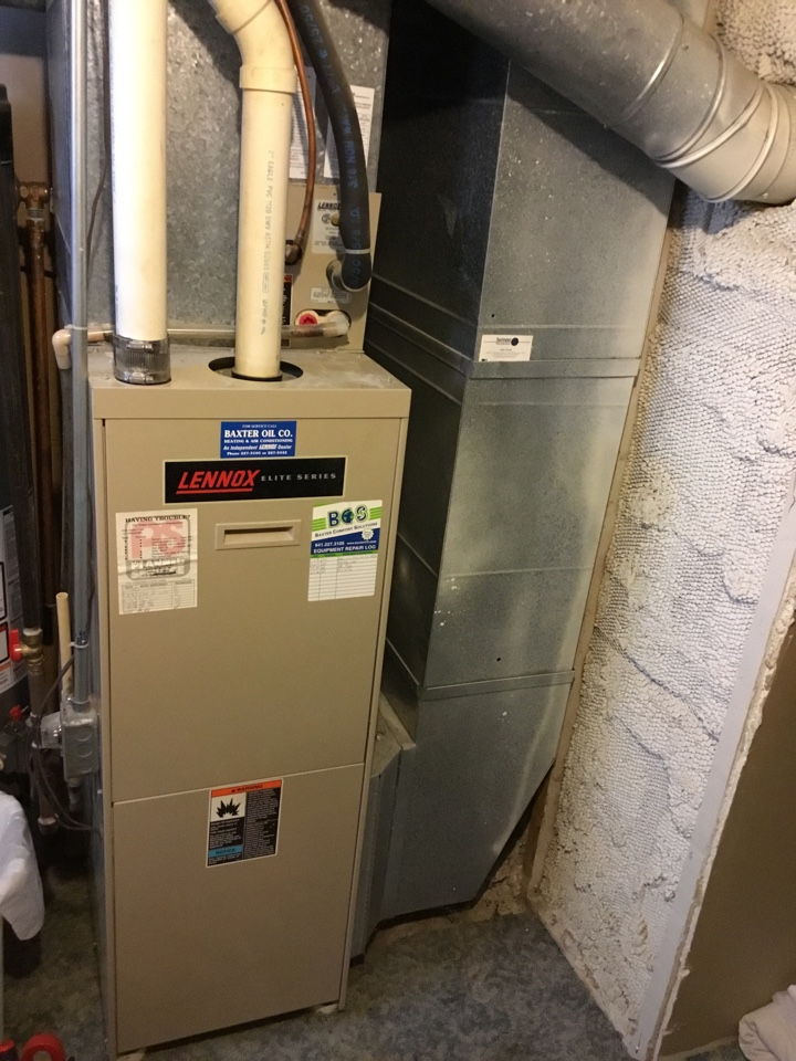 Mingo, IA - Lennox furnace maintenance no repair