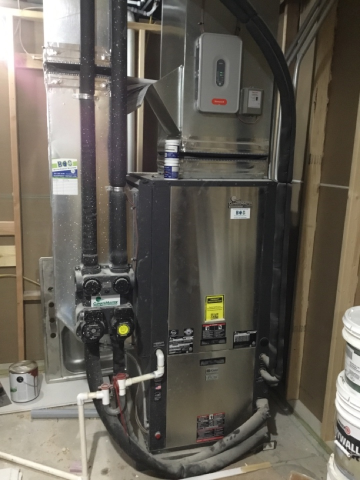 Collins, IA - ClimateMaster geothermal heat pump maintenance no repair