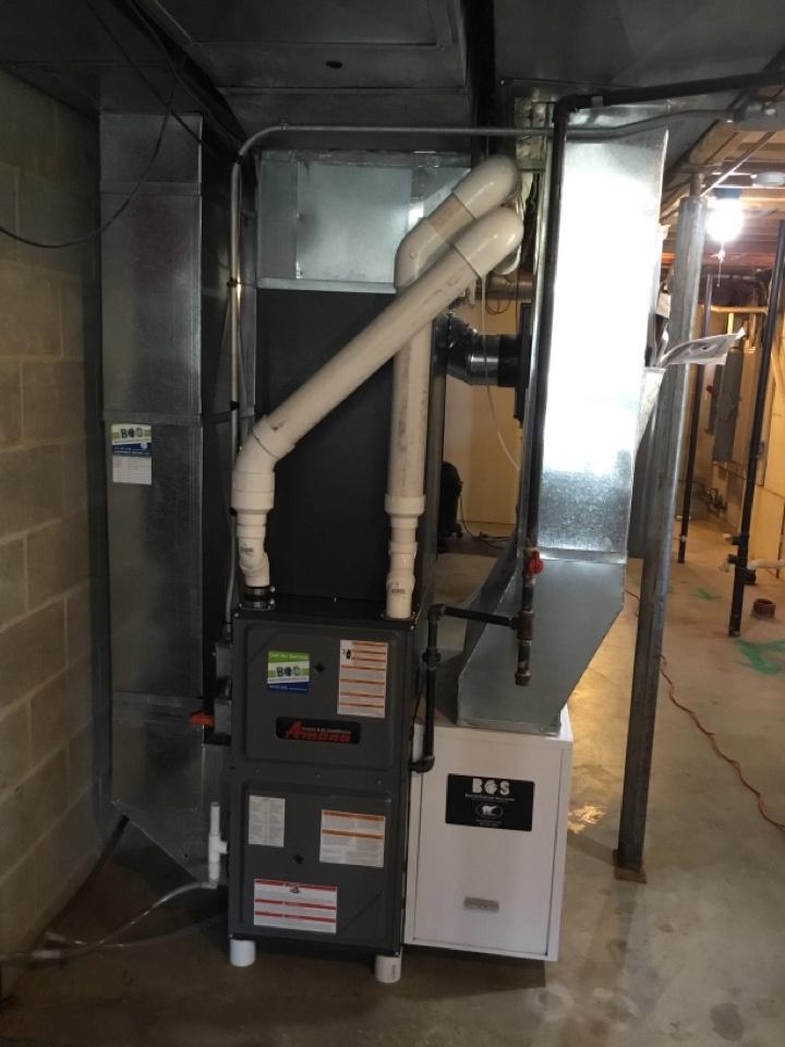 Altoona, IA - Amana furnace maintenance no repair