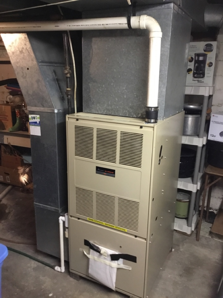 Baxter, IA - Amana furnace maintenance no repair