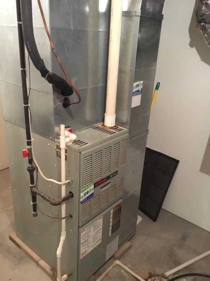 State Center, IA - Trane furnace maintenance no repair