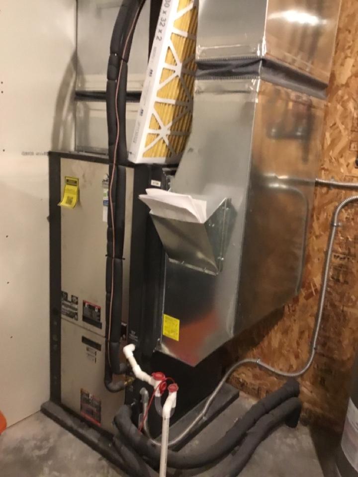 Newton, IA - ClimateMaster geothermal heat pump maintenance
