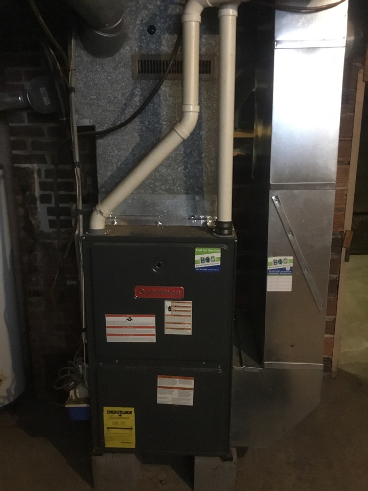 Prairie City, IA - Goodman furnace maintenance no repair