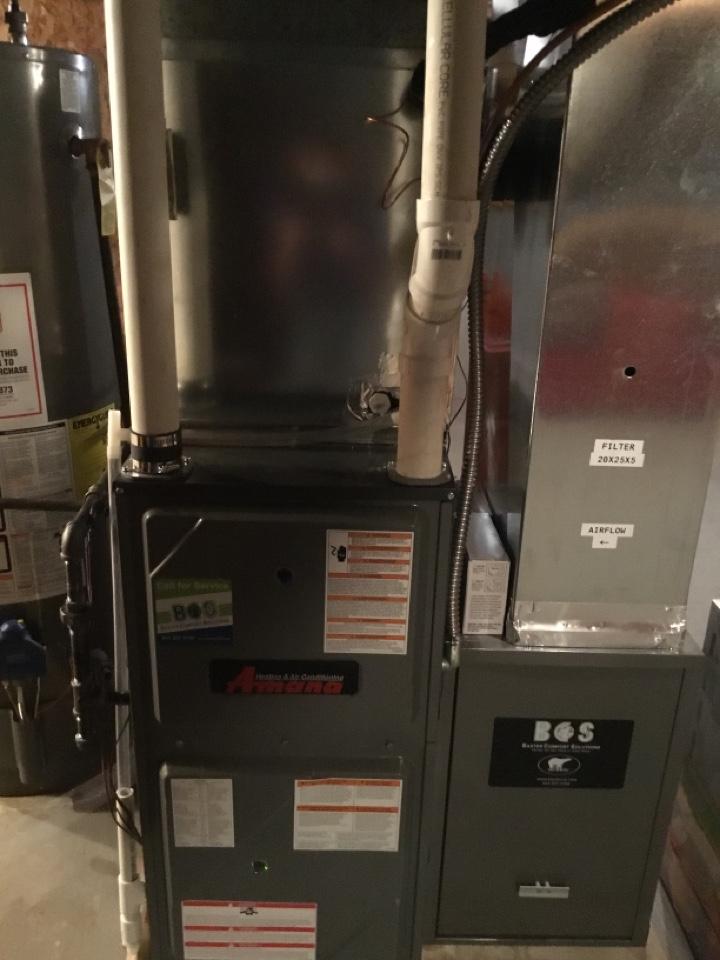 Colfax, IA - Amana furnace maintenance no repair