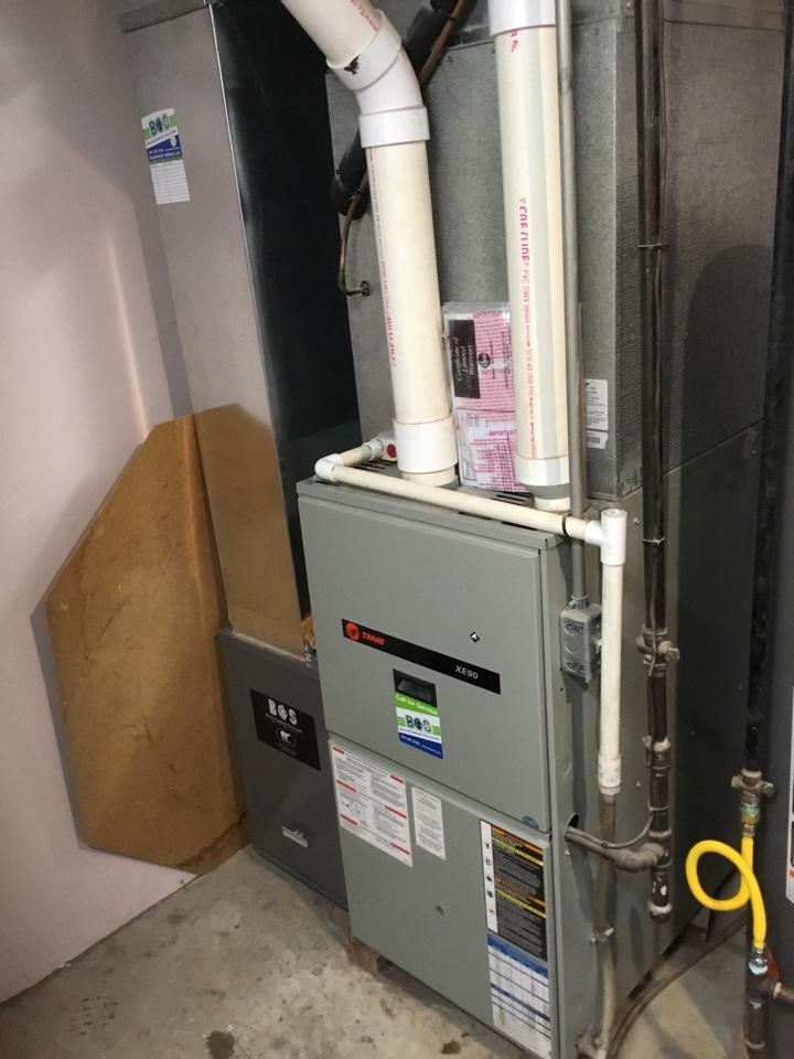 Collins, IA - Trane furnace maintenance no repair