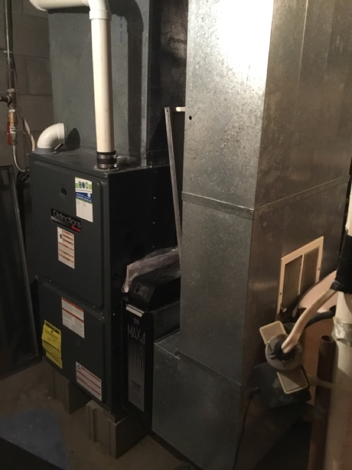 Baxter, IA - Amana furnace repair