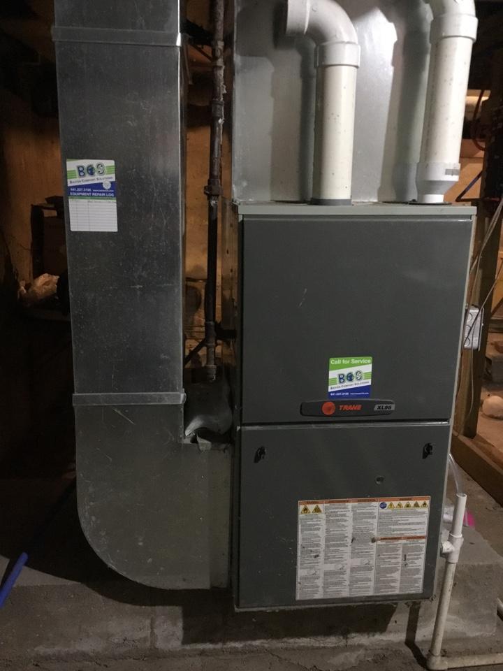Colo, IA - Trane furnace repair