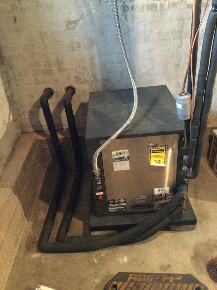 Altoona, IA - ClimateMaster geothermal repair
