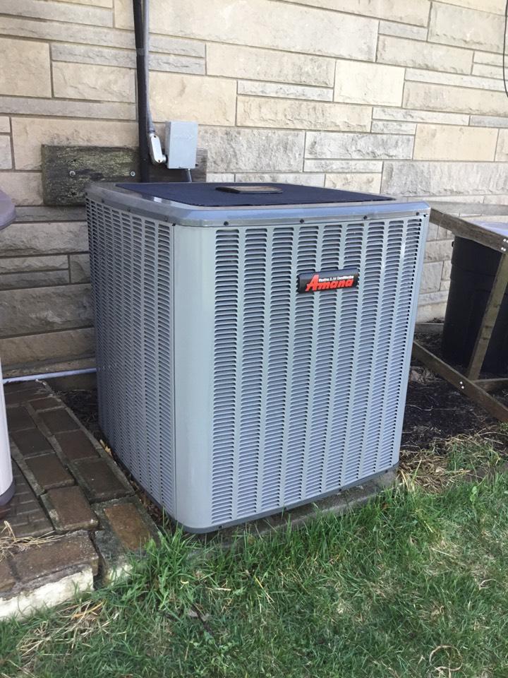 Rhodes, IA - Amana air conditioner maintenance no repair