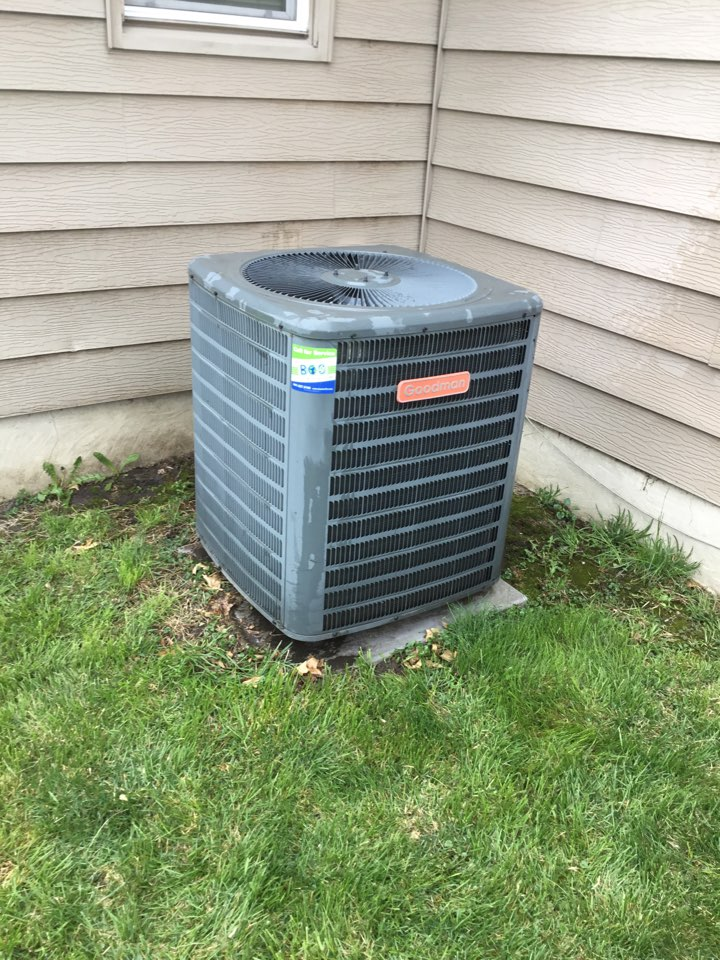 Baxter, IA - Goodman AC spring maintenance repair