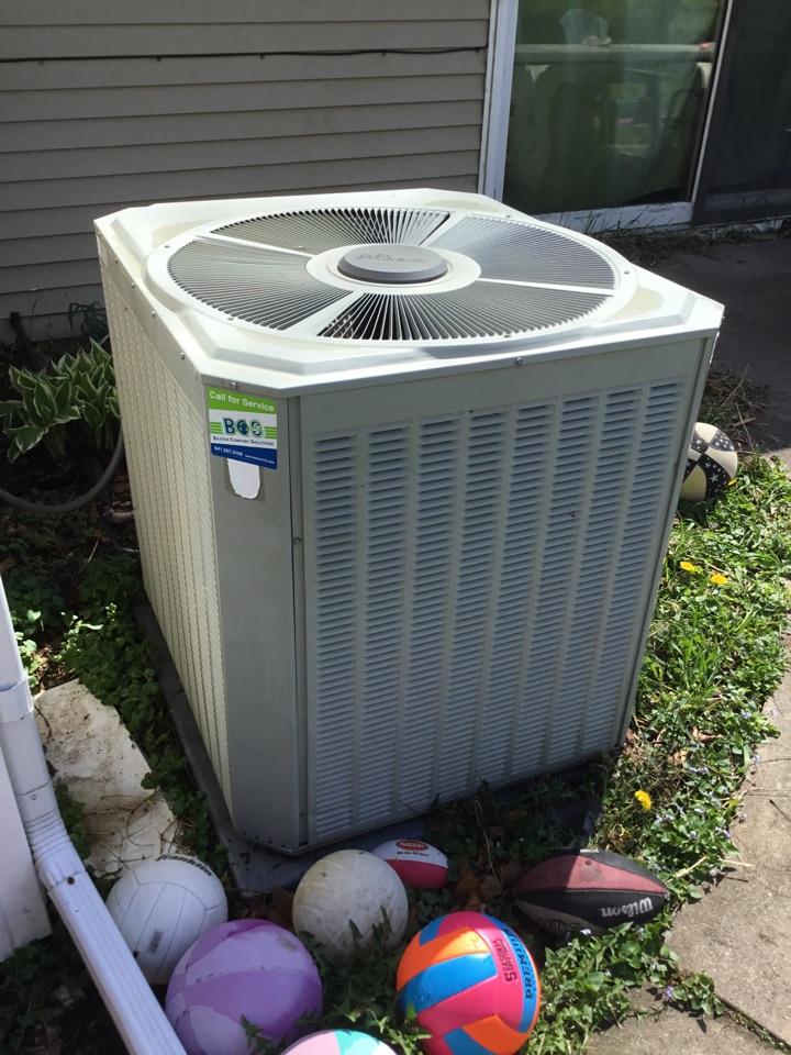 Colfax, IA - Trane air conditioner spring maintenance no repair