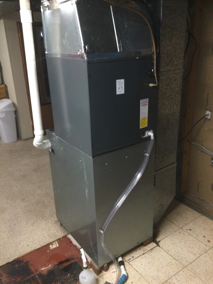 Altoona, IA - Replace leaking Ruud A-Coil