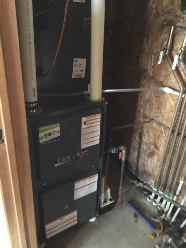 Prairie City, IA - Amana furnace maintenance no repair