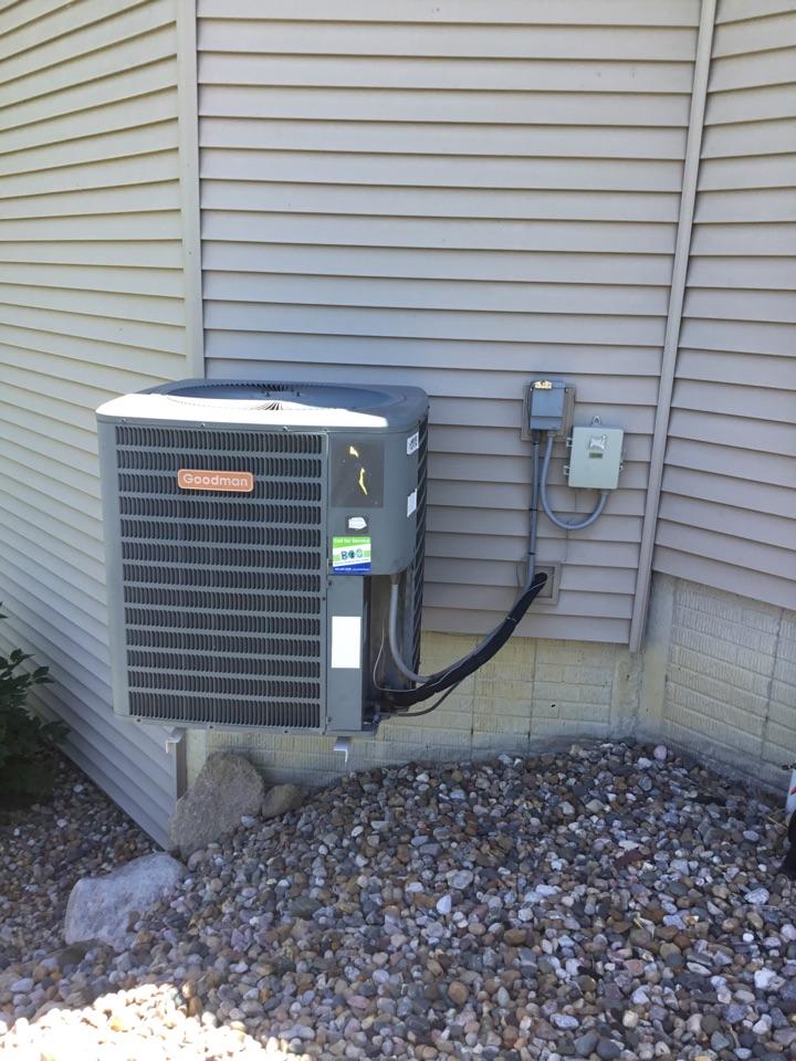 Bondurant, IA - Goodman air conditioner repair