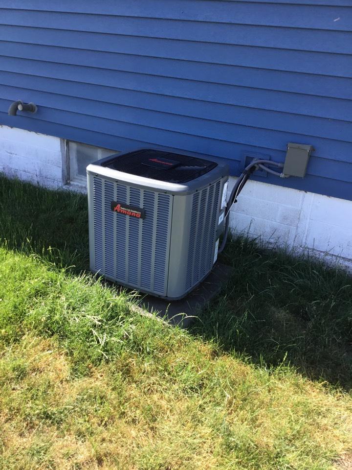 Mingo, IA - Amana air conditioner maintenance no repair