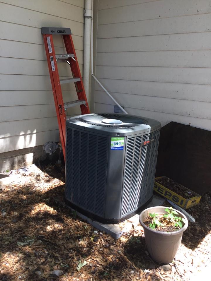 Prairie City, IA - Trane air conditioner maintenance repair