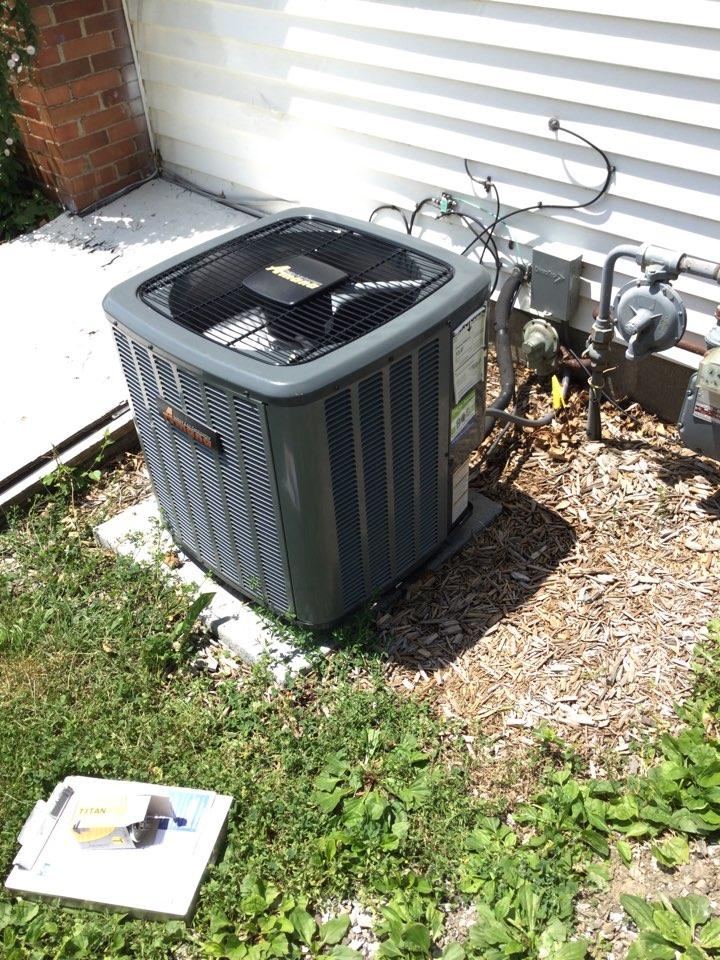 Baxter, IA - Amana air conditioner repair