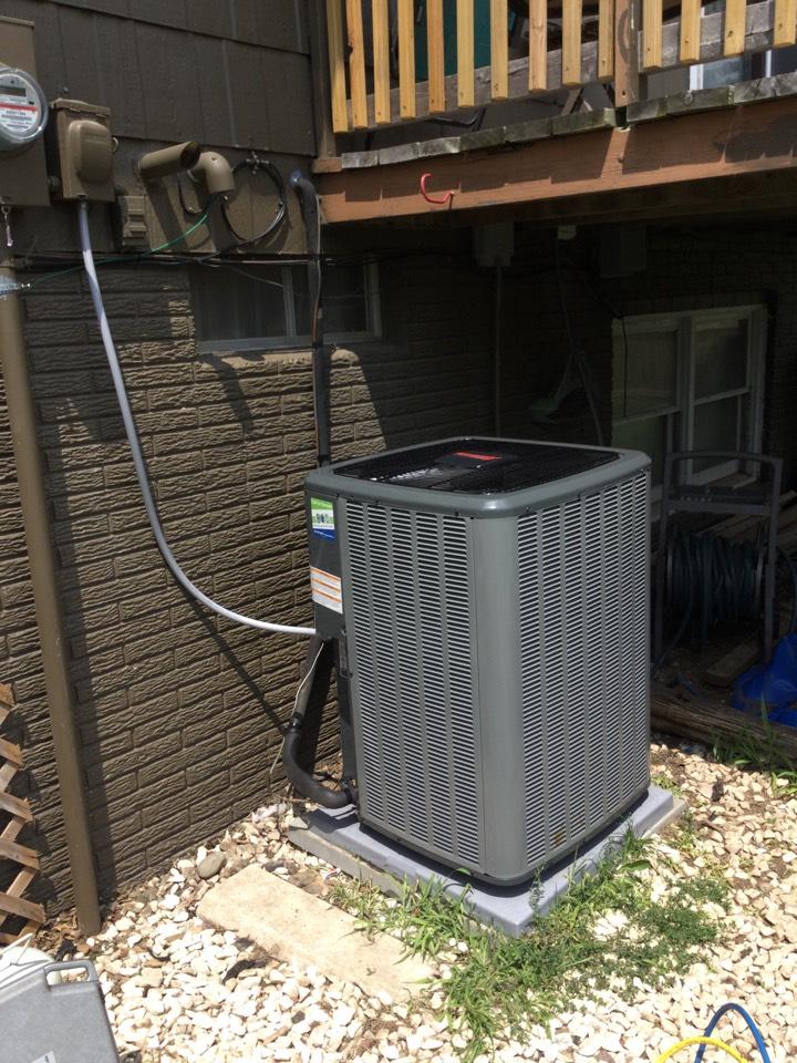 Marshalltown, IA - Amana furnace and AC install