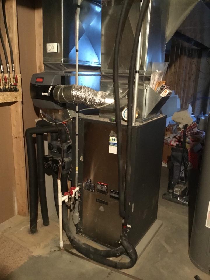Altoona, IA - ClimateMaster geothermal heat pump maintenance no repair