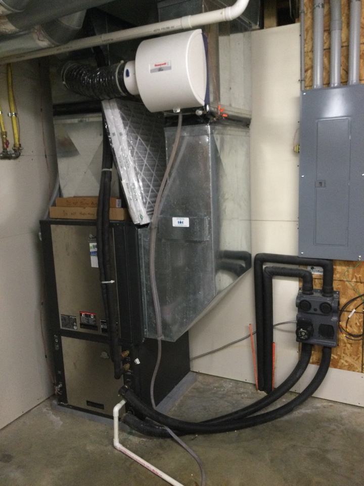 Colo, IA - Honeywell humidifier repair