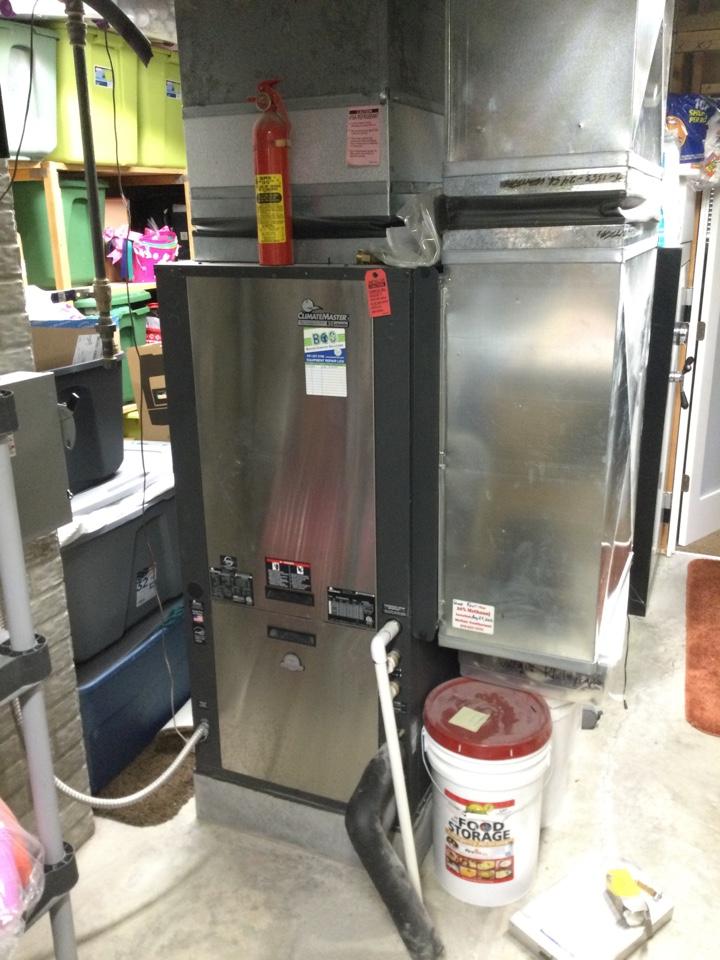 Ankeny, IA - ClimateMaster geothermal repair