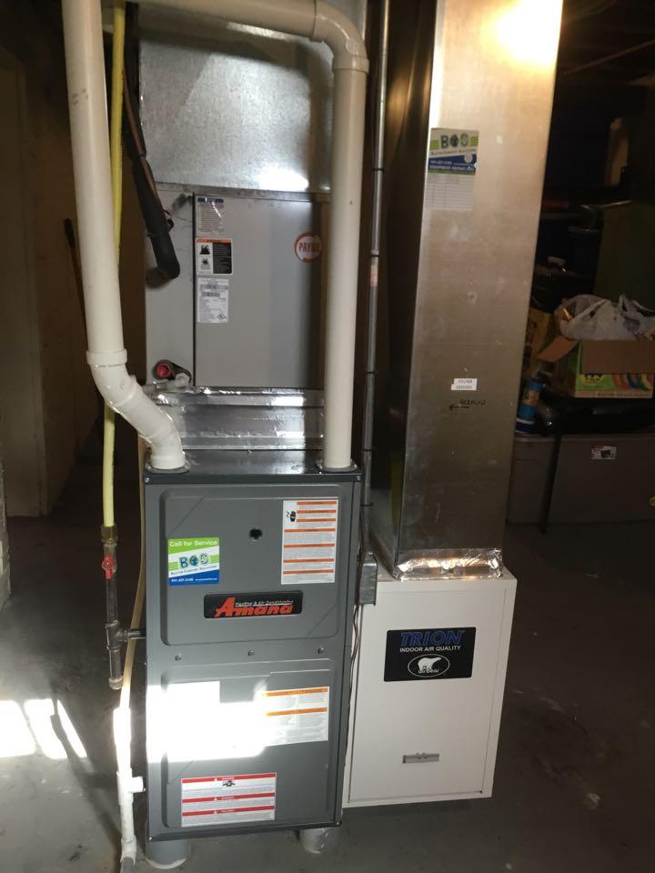 Baxter, IA - Amana furnace maintenance no repair