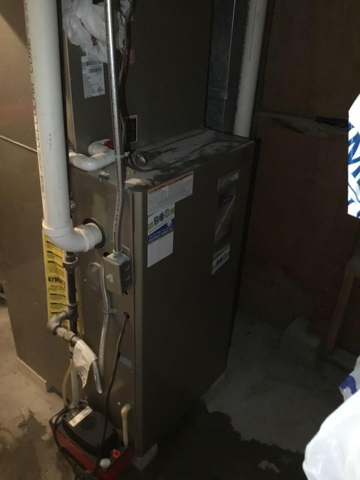 Altoona, IA - Carrier furnace maintenance no repair