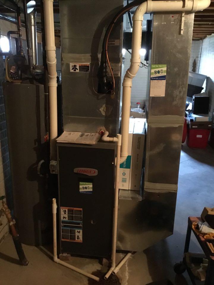 Altoona, IA - Lennox furnace maintenance no repair