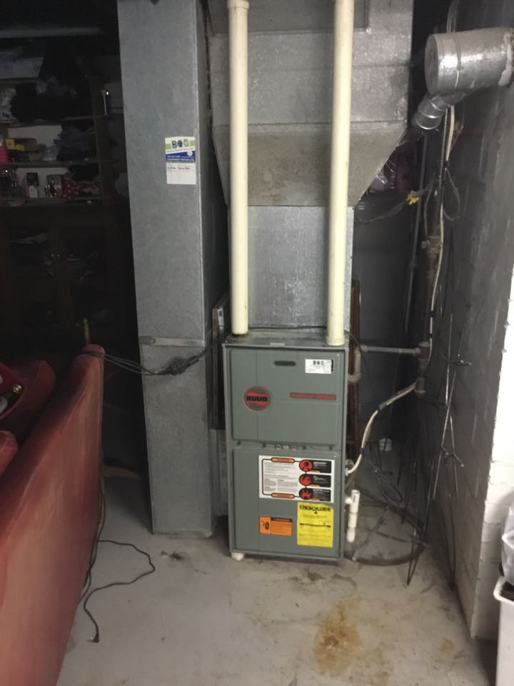 Newton, IA - Ruud furnace maintenance no repair