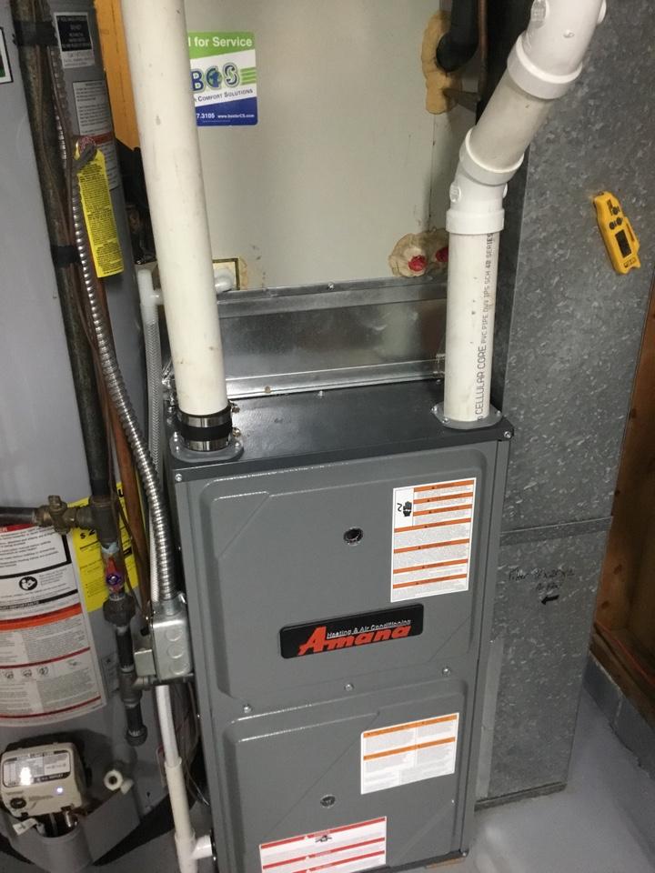 Newton, IA - Amana furnace installation