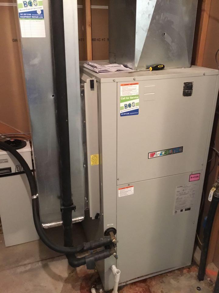Bondurant, IA - Geothermal heat pump maintenance repair