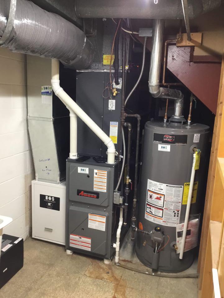 Amana furnace maintenance no repair